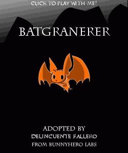 ¡BatGranerer, nuestra mascota virtual!