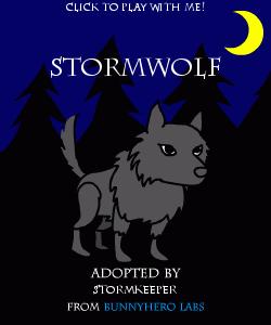 my pet wolfie!